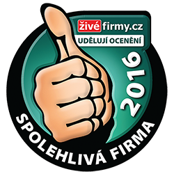 Živéfirmy.cz udělují ocenění Spolehlivá firma