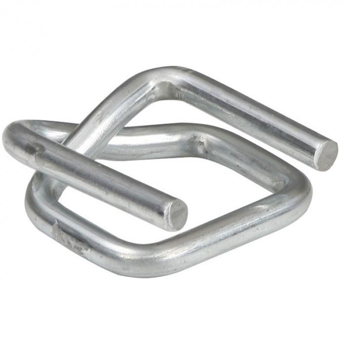 Drátěná ocelová spona pokovená