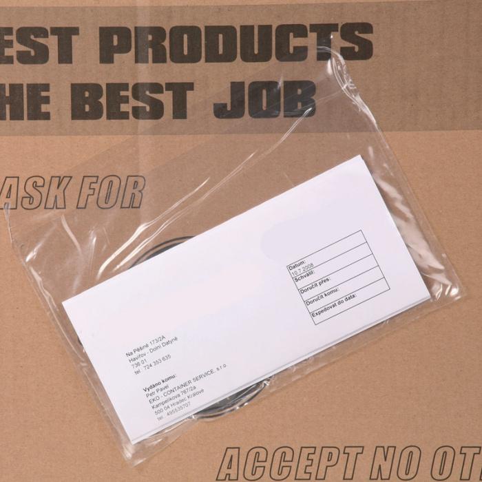 Samolepicí obálky vhodné pro doklady