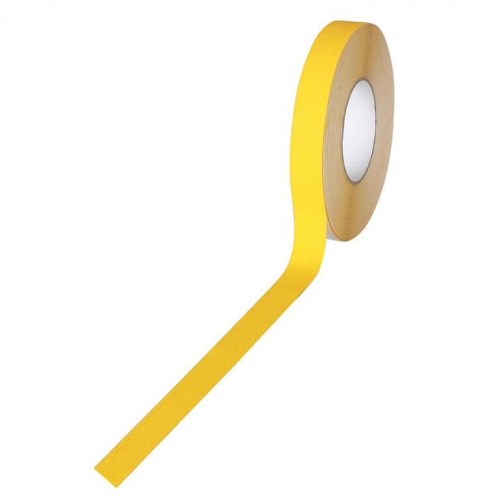 Protiskluzové pásky se zrnem - jemné zrno, 100 mm x 18,3 m