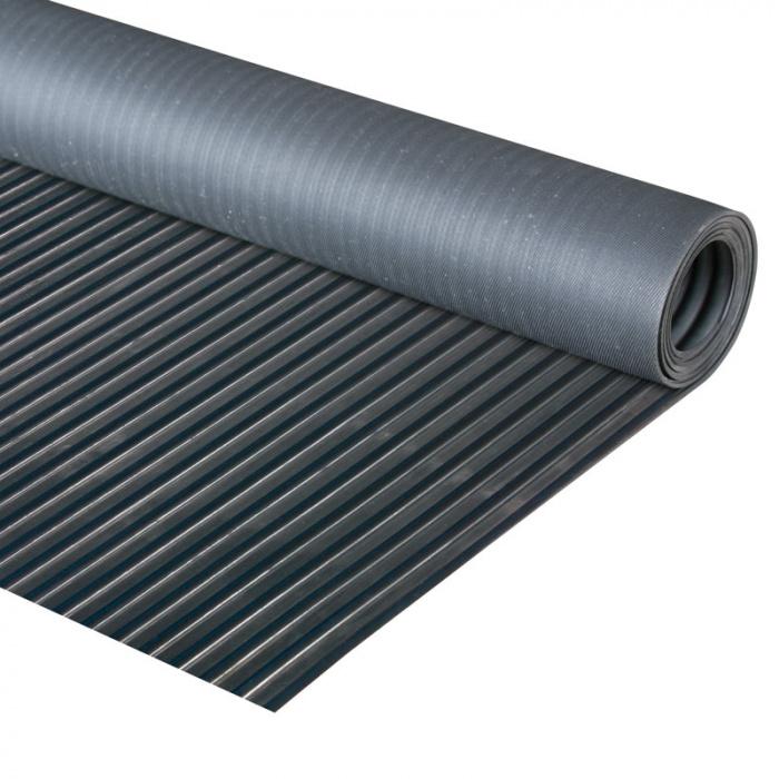 Průmyslová podlahovina s širokou drážkou - role 10 m