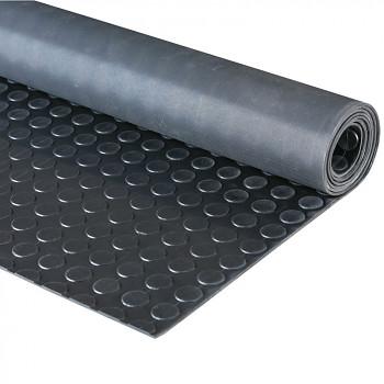 Průmyslová podlahovina s penízkovým vzorem - role 10 m