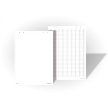 Papírové bloky pro flipcharty - rastrované