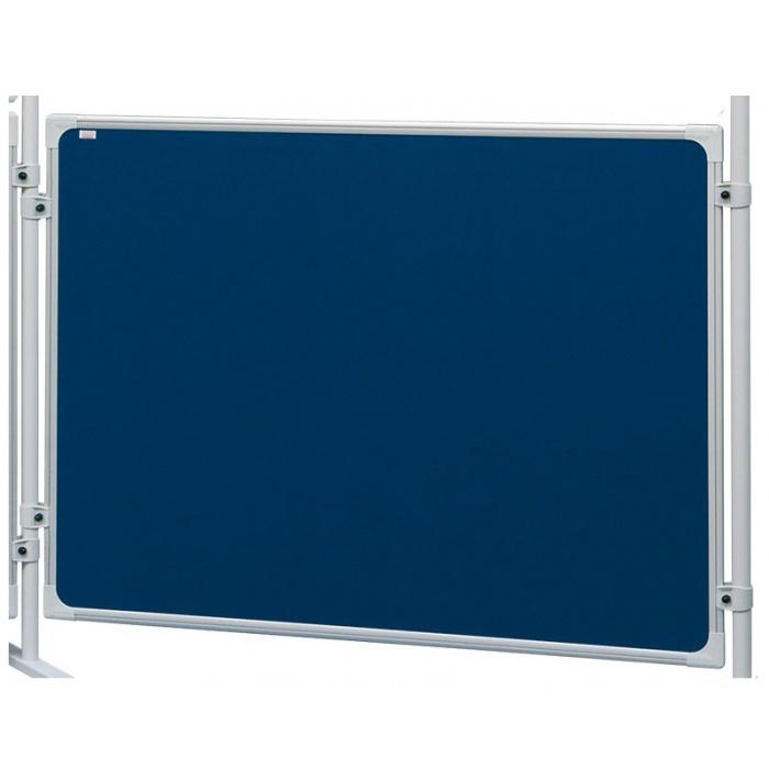 Textilní tabule modrá pro paravany 1200x1800 mm