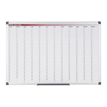 Magnetická tabule plánovací roční denní rozpis sloupce