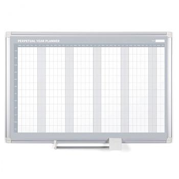Magnetická tabule plánovací roční denní rozpis řádky