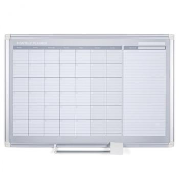 Magnetická tabule plánovací měsíční  900x 600 mm