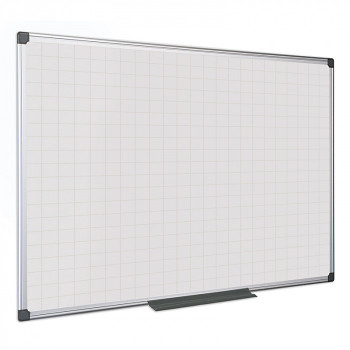 Magnetická tabule rastr  900x 600 mm