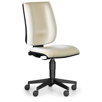 Kancelářská židle FIGO, béžová bez područek