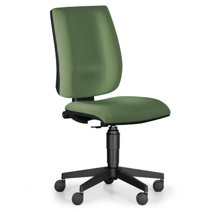 Kancelářská židle FIGO, zelená bez područek