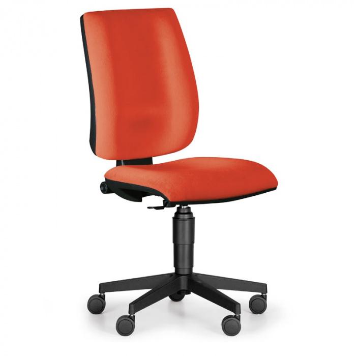 Kancelářská židle FIGO, červená bez područek