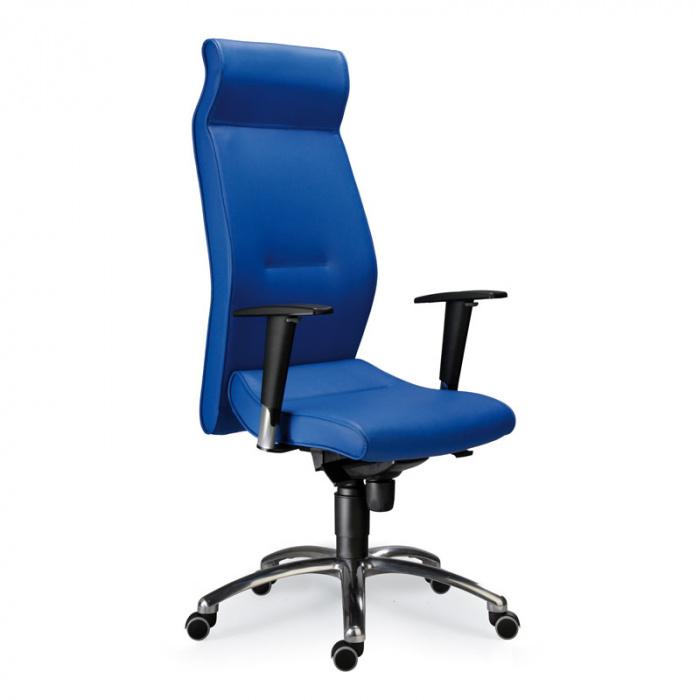 Kancelářské křeslo MEGA S modrá