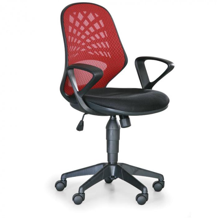 Kancelářská židle FLER červená
