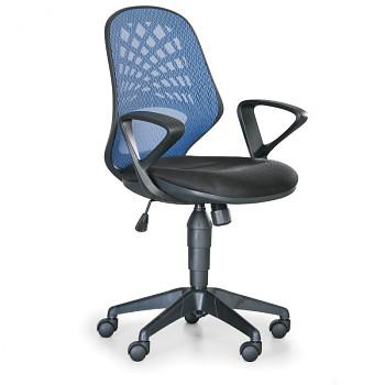 Kancelářská židle FLER modrá