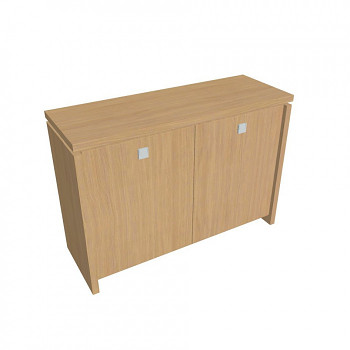 Kancelářská skříň,  900x1280x460, přír. sv. dub, ASSIST