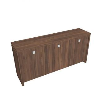 Kancelářská skříň,  900x1880x460, ořech, ASSIST