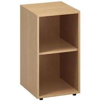 Kancelářská skříň,  735x 400x450, buk, police, CLASSIC