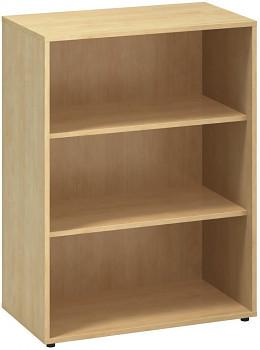 Kancelářská skříň, 1063x 800x450, divoká hruška, police, CLASSIC