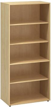 Kancelářská skříň, 1780x 800x450, divoká hruška, police, CLASSIC