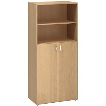 Kancelářská skříň, 1780x 800x470, buk, kombinovaná 2, CLASSIC