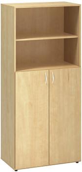 Kancelářská skříň, 1780x 800x470, divoká hruška, kombinovaná 2, CLASSIC