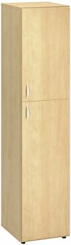 Kancelářská skříň, 1780x 400x470, divoká hruška, pravá dělená, CLASSIC