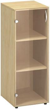 Kancelářská skříň, 1063x 400x458, divoká hruška, levá sklo, CLASSIC