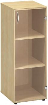 Kancelářská skříň, 1063x 400x458, divoká hruška, pravá sklo, CLASSIC