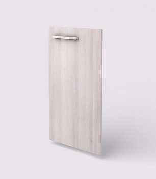 Dveře  768x 396x18, akát světlý, R, WELS