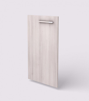 Dveře  768x 396x18, akát světlý, L, WELS