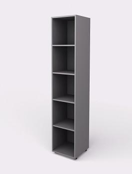 Kancelářská skříň, 1965x 399x404, šedá, police, WELS