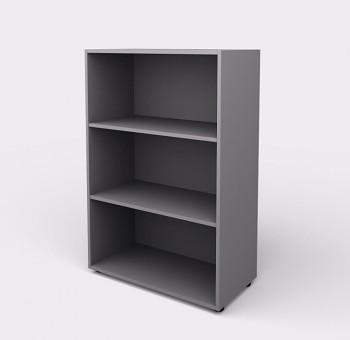 Kancelářská skříň, 1195x 798x404, šedá, police, WELS