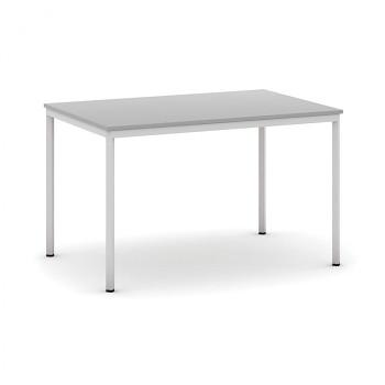Jídelní stůl 1200x 800x 735, světle šedá, podnož světle šedá, JHN