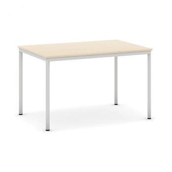 Jídelní stůl 1200x 800x 735, bříza, podnož světle šedá, JHN