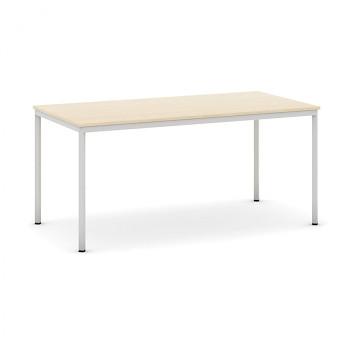 Jídelní stůl 1600x 800x 735, bříza, podnož světle šedá, JHN