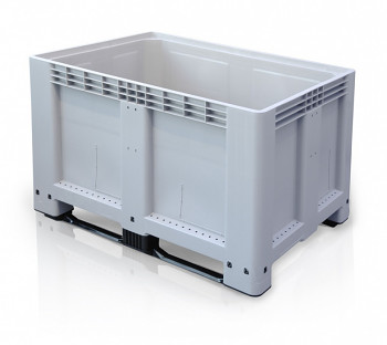 Paletový kontejner - Big Box - 1200 x 800 x 790, 3 ližiny