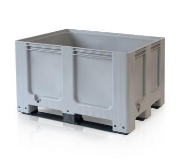 Paletový kontejner - Big Box - 1200 x 1000 x 790, 3 ližiny