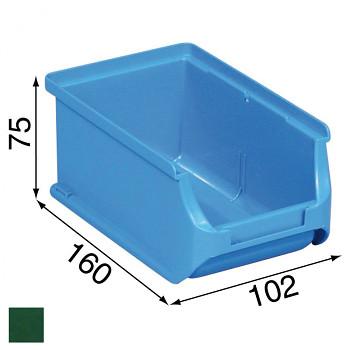 Plastové boxy na drobný materiál - 102 x 160 x 75 mm