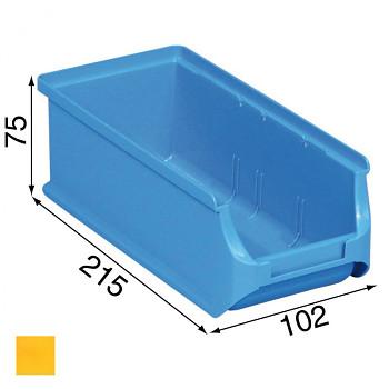 Plastové boxy na drobný materiál - 102 x 215 x 75 mm