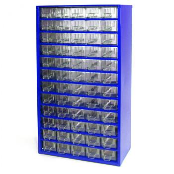 Kovová závěsná skříňka se zásuvkami, 60xA
