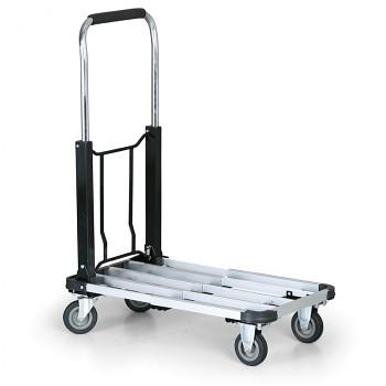 Plošinový vozík  150 kg,  700 x 410 mm, skládací