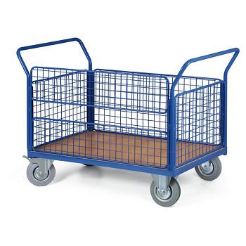 Plošinový vozík  500 kg, 1200 x 800 mm, 101070