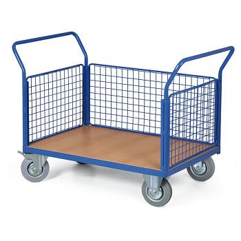 Plošinový vozík  400 kg, 1000 x 700 mm, 101079