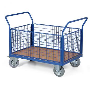 Plošinový vozík  300 kg, 1000 x 700 mm, 101081