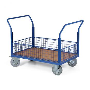 Plošinový vozík  300 kg, 1000 x 700 mm, 101084