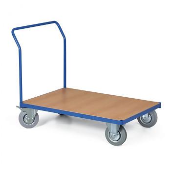 Stavebnicový plošinový vozík - bez bočních stěn