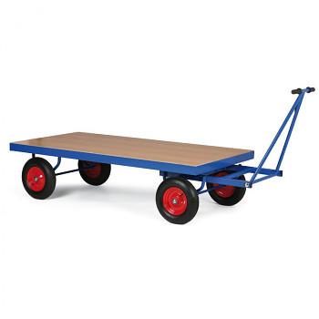 Plošinový vozík  500 kg, 1600 x 800 mm