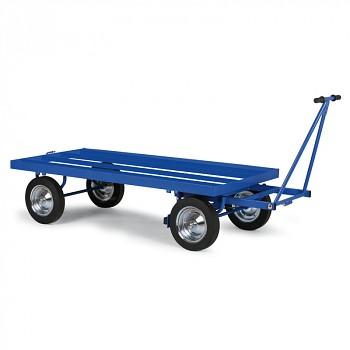Plošinový vozík - výplň ocelové profily (rošt)