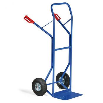 Rudl ocelový nosnost 250 kg, lopata 400x250, dušová kola