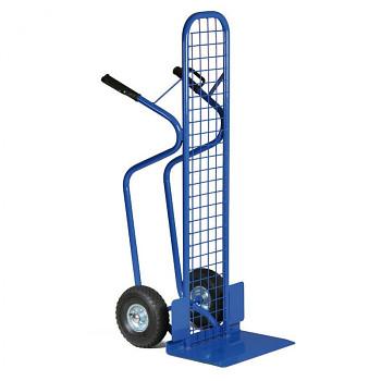 Ocelový rudl - ruční vozík s mříží